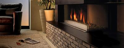 Unique Advantages of Corner Fireplaces