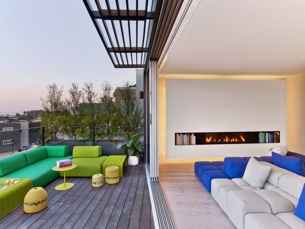 CCS Architecture Photo with Ortal Fireplace