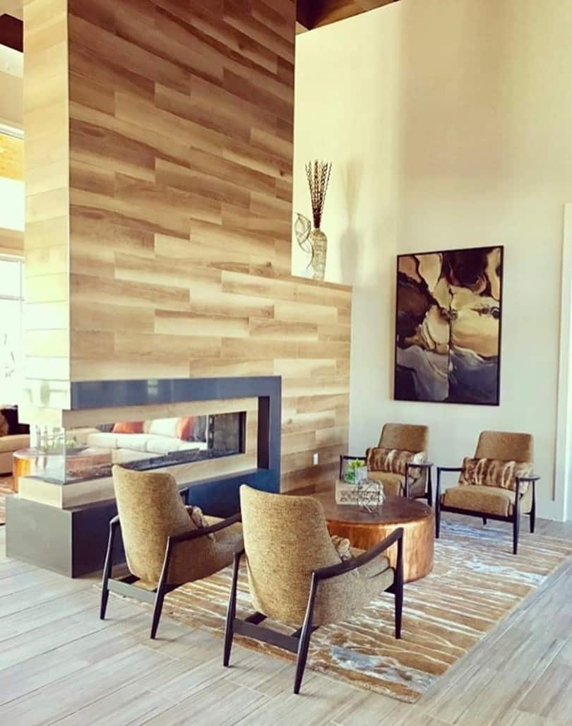 Design Environments Photo with Ortal Fireplace