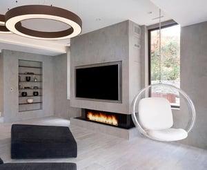 Front Facing Modern Fireplace