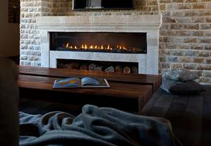 Ortal Front-Facing Gas Fireplace