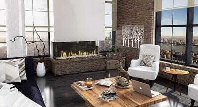 Ortals Modern Linear Fireplaces