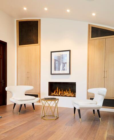 ortals front facing 110HF model fireplace