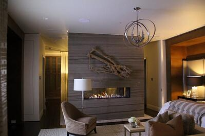 Clear 170 Tunnel Fireplace