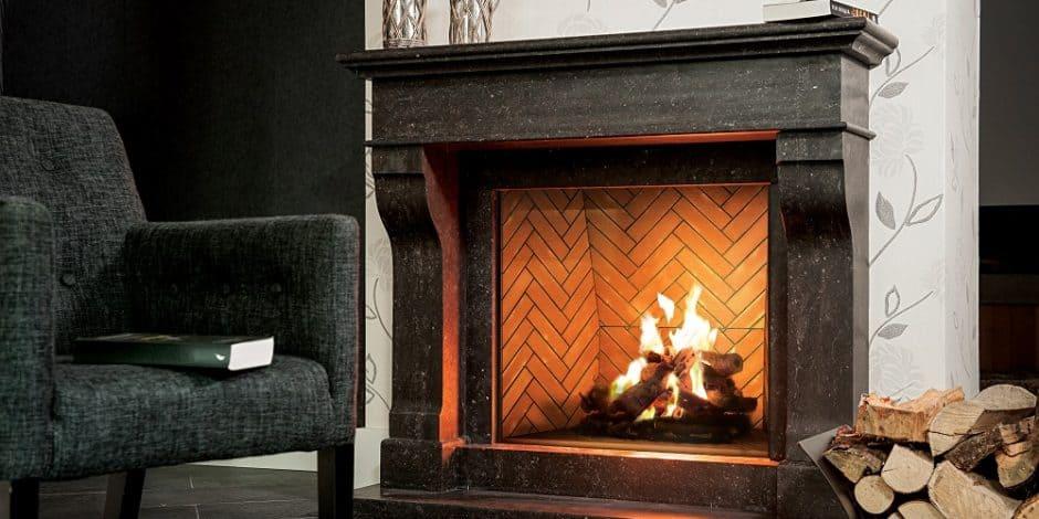 Modern Traditional Fireplace Design