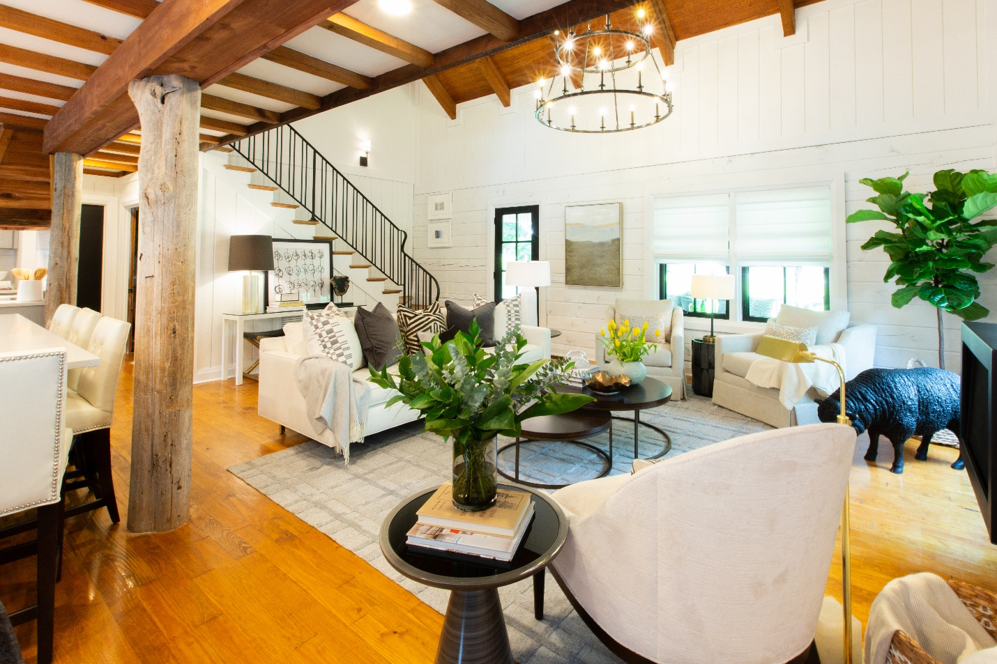 HGTV Property Brothers Buying and Selling Featuring Ortal Fireplaces